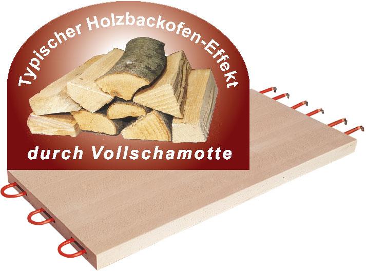 NFG Vollschamotte Steinbackofen mit dem unübertroffenen Holzbackofen Effekt für das richtige BIO Bauernbrot