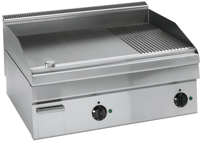 NFG Grillplatte Bratplatte SBP670GER Griddleplatte Schnell Bratplatte