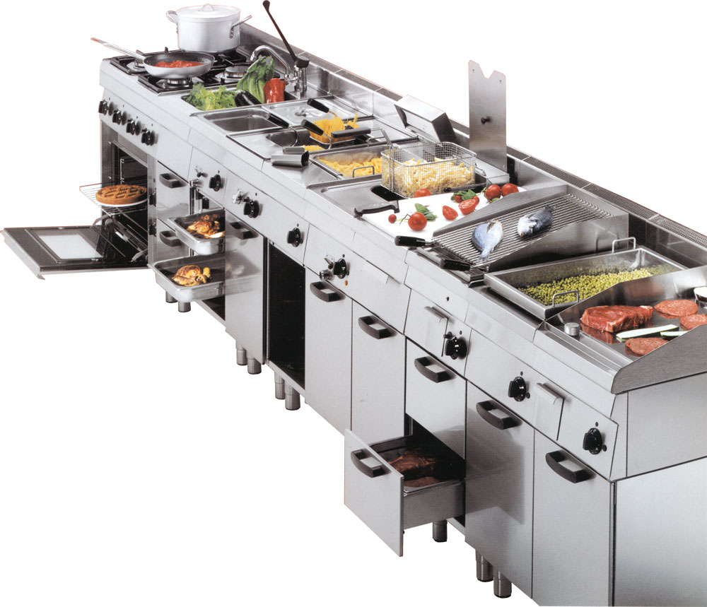 NFG Kochgeräte Imbiss Kochtechnik Tischgeräte und Standgeräte Bautiefe 600-650mm