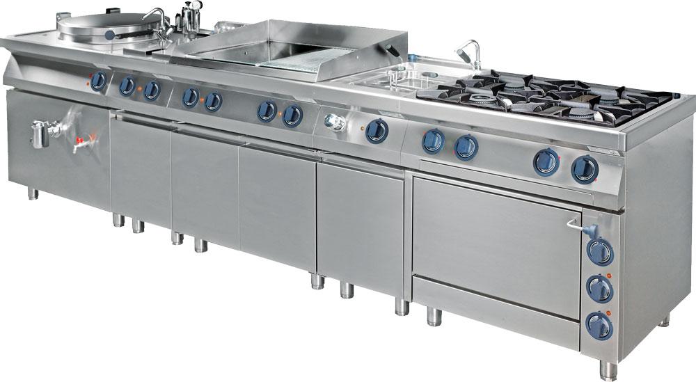 NFG Kochgeräte Großküchengeräte, Kochtechnik Tischgeräte und Standgeräte Bautiefe 700 und 900mm