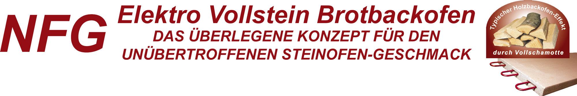 NFG Elektro Brotbackofen und Steinbackofen für den unübertroffenen Steinofen Geschmack