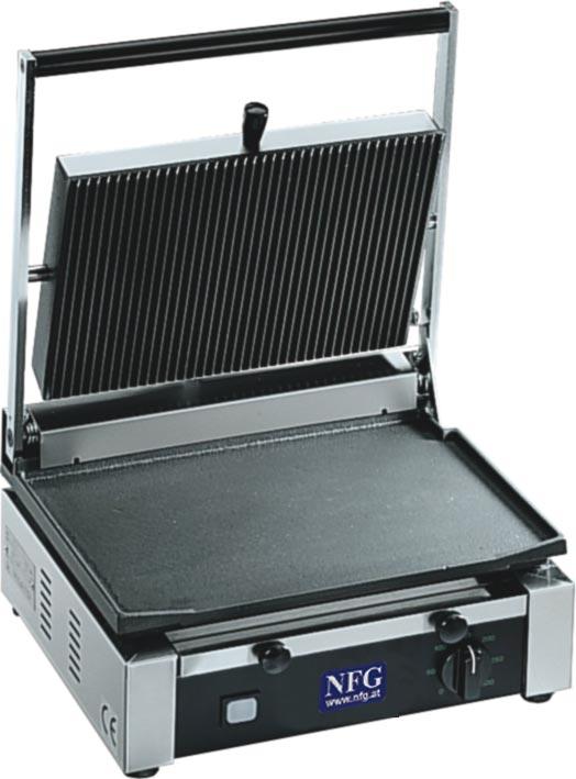NFG Top Grill 1 Plattengriller Kontaktplatten Griller Grilltoaster Toaster Kontaktgrill