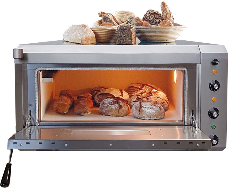 NFG Brotbackofen NBO 4 Elektro Vollstein Steinbackofen ohne Untertisch und Brot