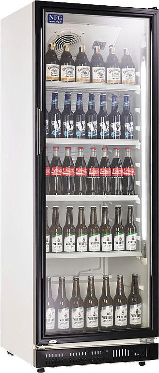 NFG Getränkekühlschrank und Flaschenkühlschrank FKS Unterbaukühlung mit Glastüre
