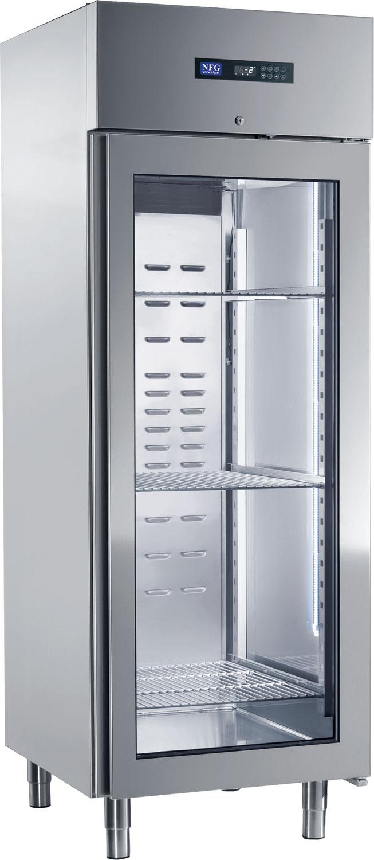 NFG Glastürkühlschrank KSV700E Getränkekühlschrank Kühlschrank mit Glastüre