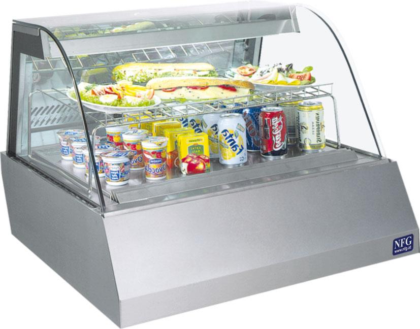 NFG Kalte Theke KT2U Kühlvitrine und Verkaufstheke Auftisch