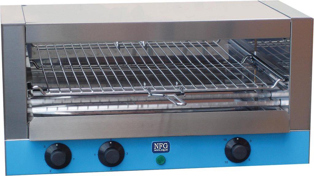 NFG Grill und Back Toaster ECT 3200 Schnellback Croc Salamander Durchlauftoaster