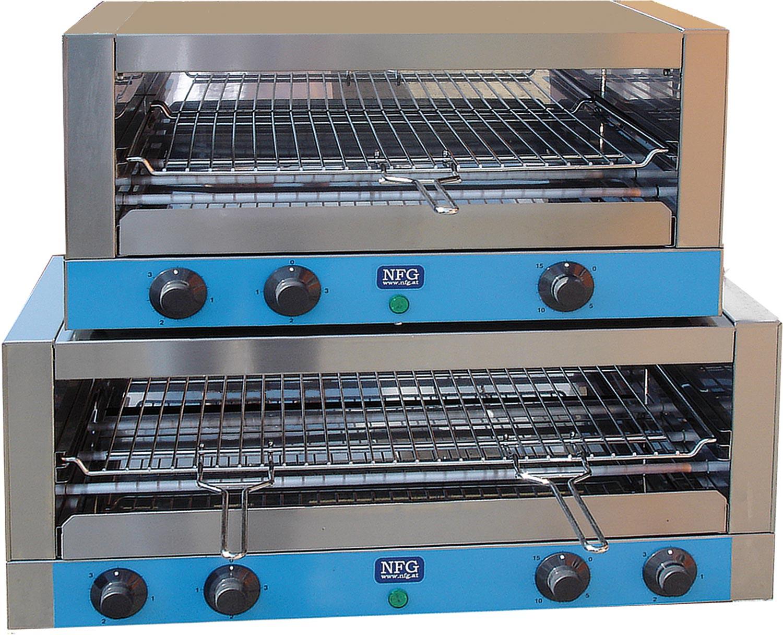 NFG Grill und Back Toaster ECT 3200 und 4200 Schnellback Croc Salamander Durchlauftoaster