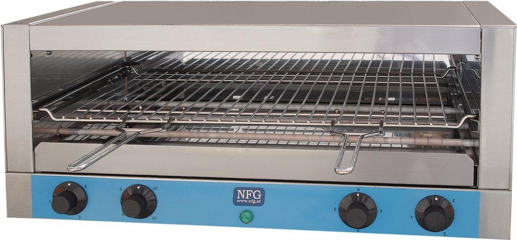 NFG Grill und Back Toaster ECT 4200 Schnellback Croc Salamander Durchlauftoaster