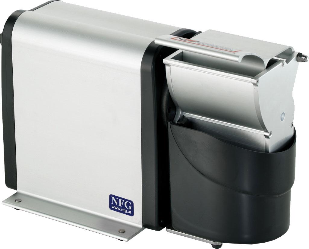 NFG Vorbereitung und Zubereitung Käsereibe für Hartkäse Nüsse und Brot KR/DEN