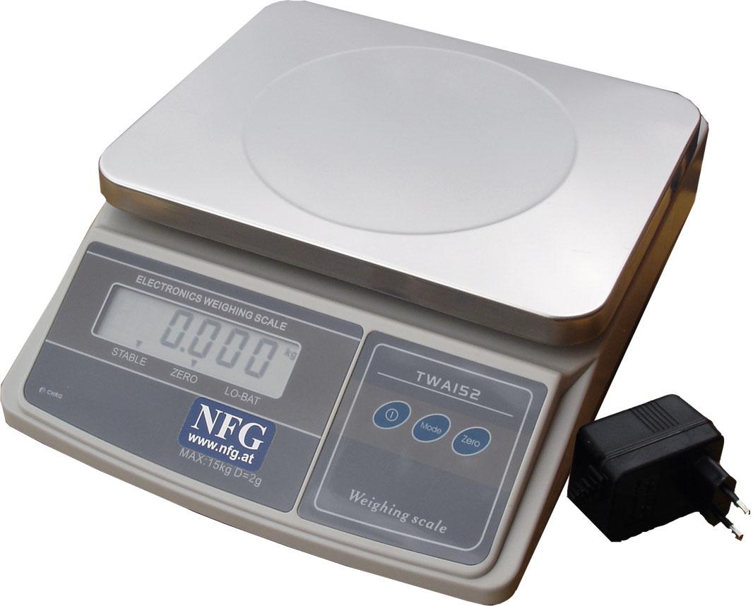 NFG Vorbereitung und Zubereitung Küchenwaage elektronische digitale Tisch Waage
