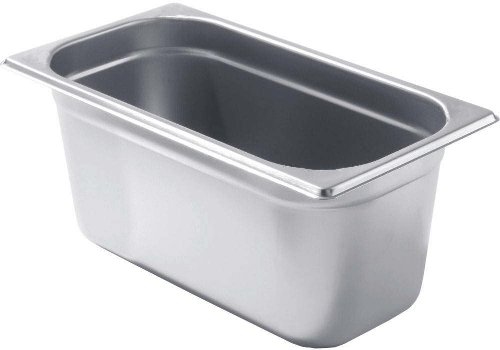 NFG Zubehör GN Behälter Gastronorm Behälter Schalen auch gelocht und Deckel in Edelstahl