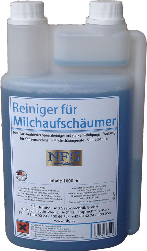 NFG Reinigungsmittel Milchaufschäumer Reiniger Kaffeemaschinenreiniger Tabletten Entkalker Milchschaumreiniger