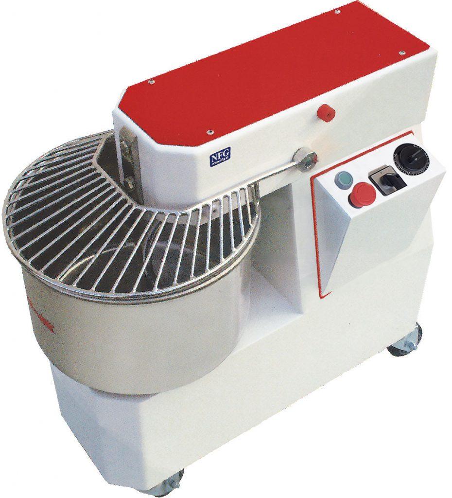 Aktion Gebraucht Shop KM 17-53 F Abverkauf Teigknetmaschine mit festem Knetkopf und fixer Teigschüssel